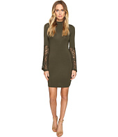 ROMEO & JULIET COUTURE - Long Sleeve Lace Woven Dress