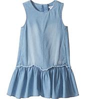 Chloe Kids - Denim Effect Sleeveless Dress From Adult Collection (Toddler/Little Kids)