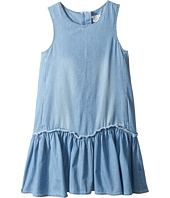 Chloe Kids - Denim Effect Sleeveless Dress From Adult Collection (Little Kids/Big Kids)