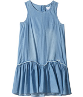 Chloe Kids - Denim Effect Sleeveless Dress From Adult Collection (Big Kids)