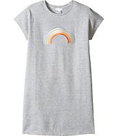 Chloe Kids - Rainbow Milano Short Sleeve Dress (Big Kids)