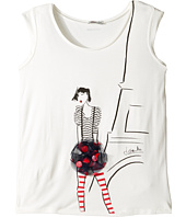 Junior Gaultier - Eiffel Tower Tee Shirt (Big Kids)