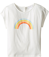 Chloe Kids - Sunglasses Or Rainbow Print Short Sleeve Tee Shirt (Little Kids/Big Kids)
