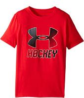 Under Armour Kids - Hockey Wordmark Short Sleeve Tee 2.0 (Big Kids)