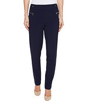 Calvin Klein - Straight Leg Pants with Buckle and Zip