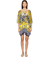 FUZZI - Single Layer Poncho Cover-Up