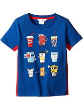 Little Marc Jacobs - Movie Or Animation Prints Short Sleeve Tee Shirt (Toddler/Little Kids)