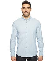 Kenneth Cole Sportswear - Long Sleeve Stretch End on End Shirt
