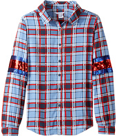 Little Marc Jacobs - Long Sleeve Shirt (Big Kids)