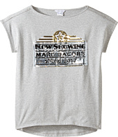 Little Marc Jacobs - Official Prints Short Sleeve Tee Shirt (Big Kids)