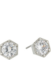 LAUREN Ralph Lauren - Headlines Hexagon Stud Earrings