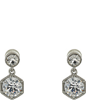 LAUREN Ralph Lauren - Headlines Double Drop Earrings