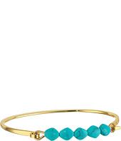 LAUREN Ralph Lauren - Turquoise and Caicos Bead and Metal Cuff Bracelet