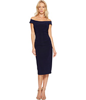Laundry by Shelli Segal - Off the Shoulder Curve Control Dress