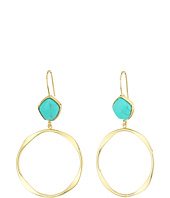 LAUREN Ralph Lauren - Turquoise and Caicos Gypsy Hoop Earrings