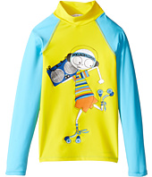 Little Marc Jacobs - Swimsuit Long Sleeve Tee Shirt (Little Kids/Big Kids)