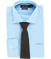 LAUREN Ralph Lauren - Non Iron Poplin Stretch Slim Fit Spread Collar Dress Shirt