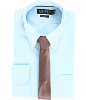 LAUREN Ralph Lauren - Non Iron Pinpoint Classic Fit Button Down Collar Dress Shirt