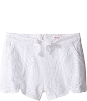 Ella Moss Girl - Tiana All Over Eyelet Shorts (Big Kids)