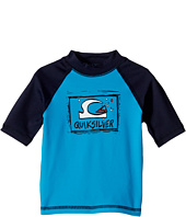 Quiksilver Kids - Bubble Dream Short Sleeve Rashguard (Toddler/Little Kids)