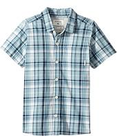 Quiksilver Kids - Everyday Check Short Button Up Sleeve Shirt (Toddler/Little Kids)