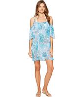 Bleu Rod Beattie - Soak Up The Sun Cold Shoulder Dress Cover-Up