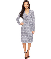 Pendleton - Medallion Print Wrap Knit Dress