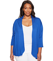 Karen Kane Plus - Plus Size Pleat Back Cardigan