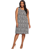 Karen Kane Plus - Plus Size Hi Lo Hem Dress