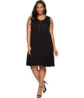 Karen Kane Plus - Plus Size Tiered Dress
