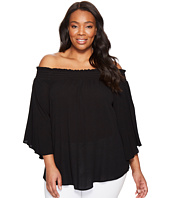 Karen Kane Plus - Plus Size Off the Shoulder Top