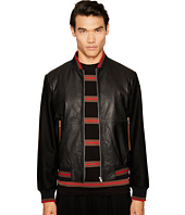 McQ - Soft Leather Blouson Jacket