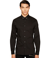 Just Cavalli - Studded Collar Button Down
