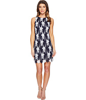 Taylor - Chemical Burnout Daisy Sheath Dress