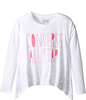 Converse Kids - Boxy Shark Bite Top (Big Kids)
