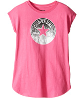 Converse Kids - Dropped Shoulder Tee (Big Kids)