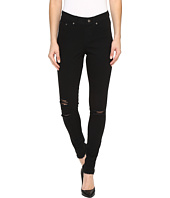 HUE - Ripped Knee Denim Leggings