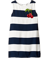 Dolce & Gabbana Kids - Stripe with Cherry Dress (Toddler/Little Kids)