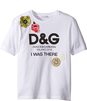 Dolce & Gabbana Kids - I Was There Tee (Toddler/Little Kids)