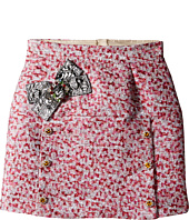 Dolce & Gabbana Kids - Pink Jacquard Skirt (Big Kids)