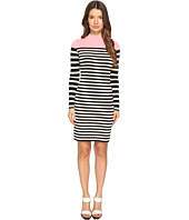 Sonia Rykiel - Color Block and Striped Dress