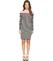 Sonia Rykiel - Color Block and Striped Dress