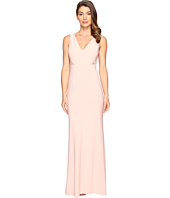 Adrianna Papell - Jersey Sleeveless Gown w/ Cutouts