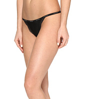 Calvin Klein Underwear - Sheer Marquisette with Lace String Thong