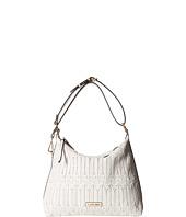 Calvin Klein - Rattan Leather Hobo Bag
