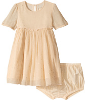 Stella McCartney Kids - Maria Gold Polka Dot Printed Dress (Infant)