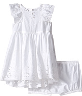 Stella McCartney Kids - Sundae Flutter Sleeve Eyelet Dress (Infant)