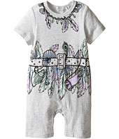 Stella McCartney Kids - Kit All-In-One with Feather and Belt Graphic (Infant)