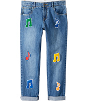 Stella McCartney Kids - Lohan Patched Denim Pants (Toddler/Little Kids/Big Kids)