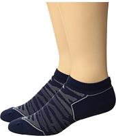 adidas - Superlite Prime Mesh 2-Pack No Show Socks